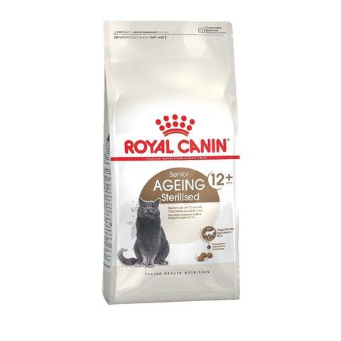 Royal Canin Ageing Sterilised 12+ сухой корм для пожилих стерилизованных кошек 2кг