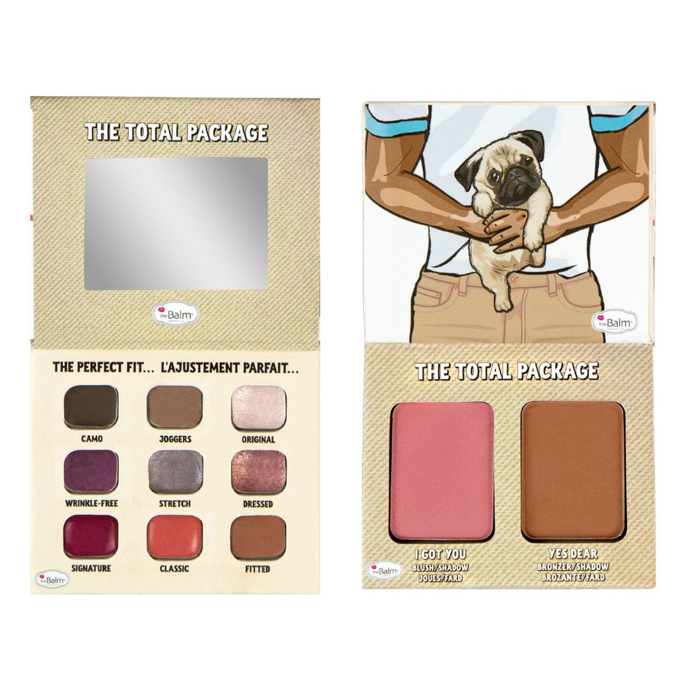 Палетка The Balm The Total Package I love My Girlfriend