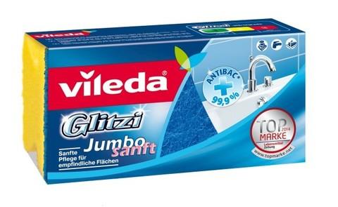 Губка д/ванной комнаты Vileda Glitzi Jumbo