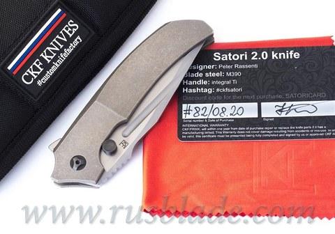 CKF/Rassenti SATORI 2.0 collab knife