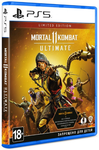 Mortal Kombat 11 Ultimate. Limited Edition (PS5, русские субтитры)