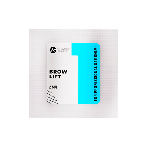 Саше с составом #1 для долговременной укладки бровей BROW LIFT 2мл