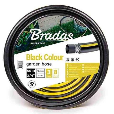 Шланг для полива Bradas BLACK COLOUR 3/4 50 м, WBC3/450