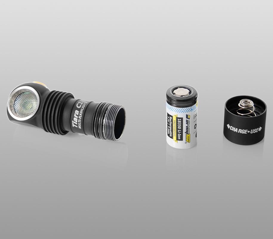 Мультифонарь Armytek Tiara C1 Pro Magnet USB - фото 5