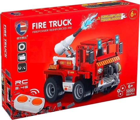 Конструктор пожарная машина на р/у 50003