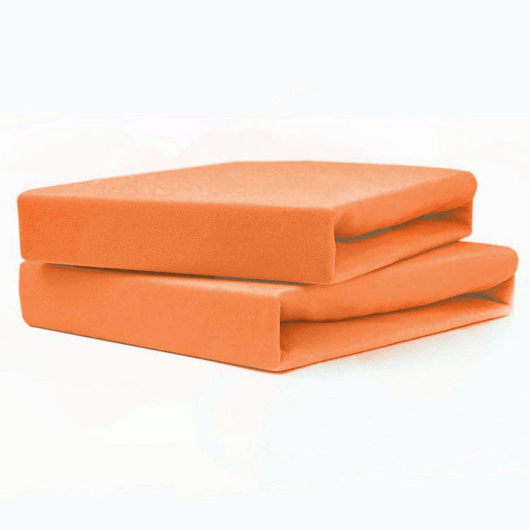 TUTTI FRUTTI мандарин - Двуспальная простыня на резинке