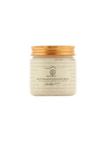 Миндаль и Кокум крем-масло для тела Khadi Natural, 100 гр