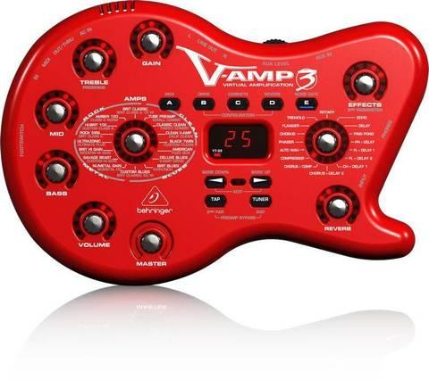 BEHRINGER V-AMP 3 процессор эффектов для гитары
