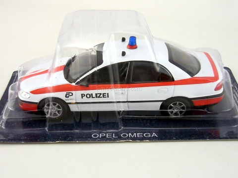 Opel Omega Police Switzerland 1:43 DeAgostini World's Police Car #61