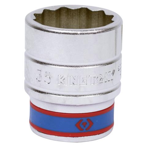 "Головка торцевая стандартная двенадцатигранная 3/4"", 35 мм KING TONY 633035M"