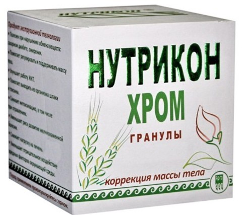 Нутрикон Хром, гранулы, 350г