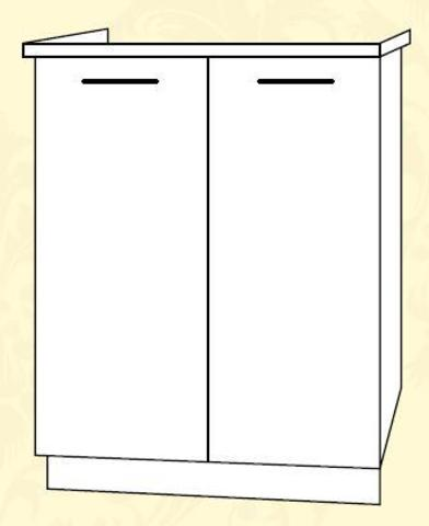 Империя СМ 600 Шкаф нижний мойка