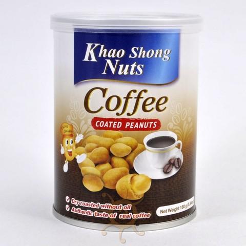 Арахис в кофейной оболочке Khao Shong, 160г