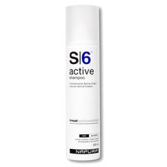 NAPURA Active S6  Шампунь для раздраженной кожи (против перхоти) SLS free (200 мл)
