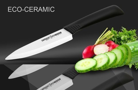 SC-0021 Нож керамический универсальный 125 мм, Samura Eco-Ceramic