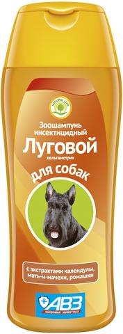 Луговой зоошампунь для собак