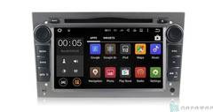 Штатная магнитола 4G/LTE с DVD для Opel Astra на Android 7.1.1 Parafar PF019D (титан)
