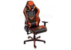Компьютерное кресло Райсер (Racer) черное / оранжевое