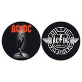 Слипмат Для Проигрывателя Виниловых Пластинок (AC/DC - Let There Be Rock + Rock & Roll Will Never Die)