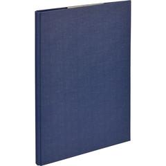 Папка-планшет Attache A4 картонная синяя с крышкой