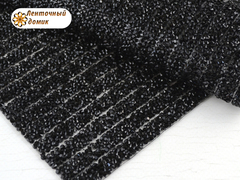 Полоса со стразами на силиконовой основе черная