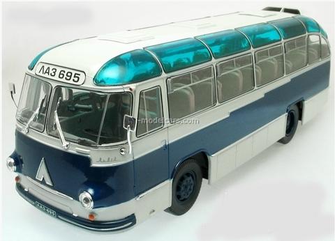 LAZ-695B Bus ultramarine Ultra Models 1:43