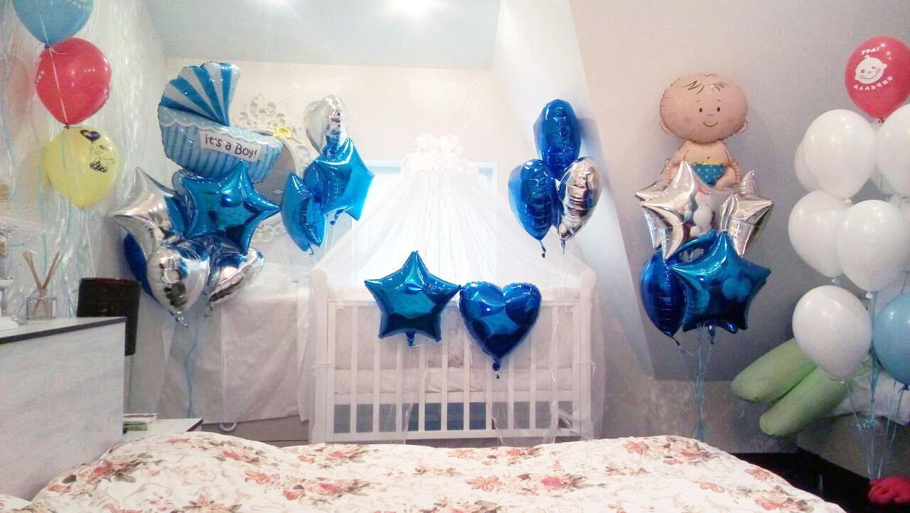 Воздушные шары на выписку, шаровски.рф