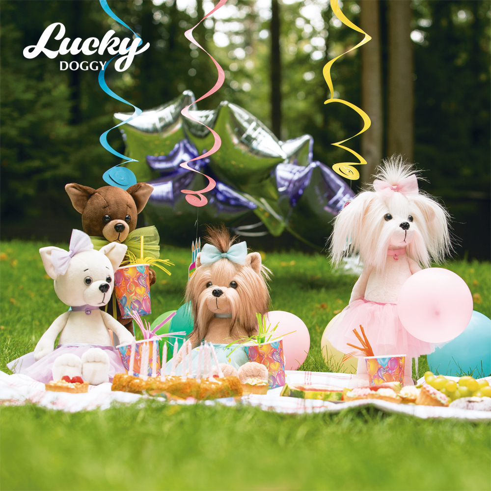 Собачка LUCKY MIMI Розочка (Orange Toys)