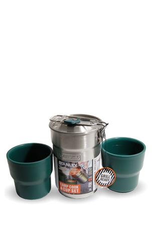 Набор туристический Stanley Camp Cook Set (0,71 литра), стальной