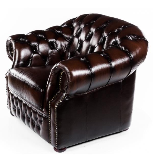 Кресло ESF B-128 коричневое