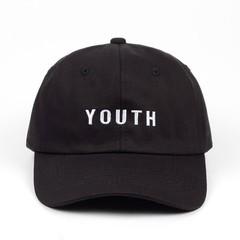Кепка  Youth (Бейсболка) черная
