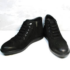 Мужская зимняя обувь Luciano Bellini 71783 Black.