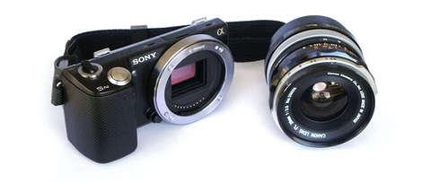 переходное кольцо FD-NEX для объективов Canon FD под байонет Sony NEX