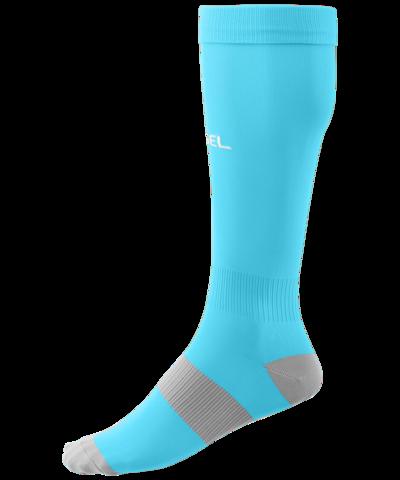Гетры футбольные JA-006 Essential, бирюзовый/серый