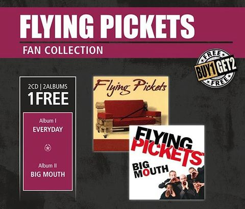 Inakustik CD, Flying Pickets, Everyday & Big Mouth, 0169156
