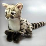 Мягкая игрушка Дикий кот Сервал 28 см (Leosco)