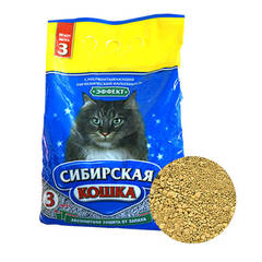 Наполнитель для кошачьего туалета, Сибирская Кошка Эффект