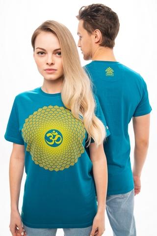 Футболка unisex Mandala Deep Sea