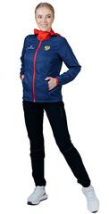 Беговой костюм с капюшоном Nordski Run Run Patriot Black W женский
