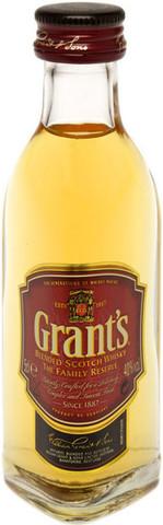 Виски Grant's Family Reserve, 0.05 л