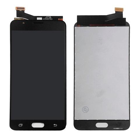 LCD SAMSUNG J7 Prime G610 + Touch Black Orig MOQ:5