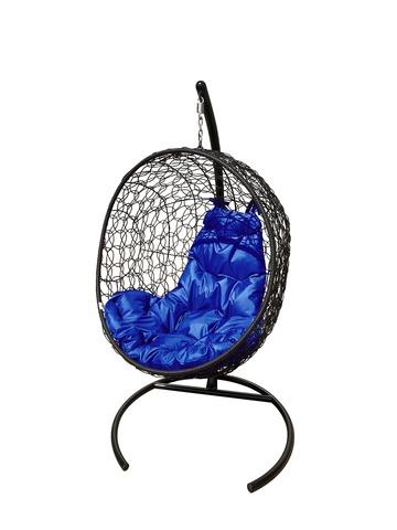 Кресло подвесное Porto black/blue