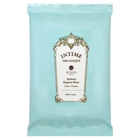 Органические гигиенические салфетки Intime Organique Intimate Hygiene Sheet