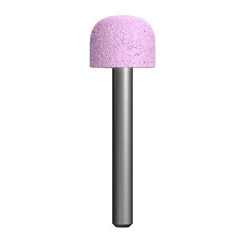 Шарошка абразивная ПРАКТИКА оксид алюминия, закругленная 19х16 мм, хвост 6 мм, блистер