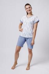 Комплект футболка/шорты:жен. МОДЕЛЬ 4