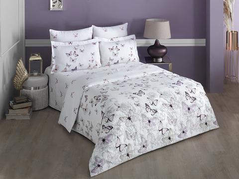 Комплект постельного белья Сатин печатный семейный