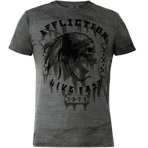 Футболка Affliction APACHE GARAGE