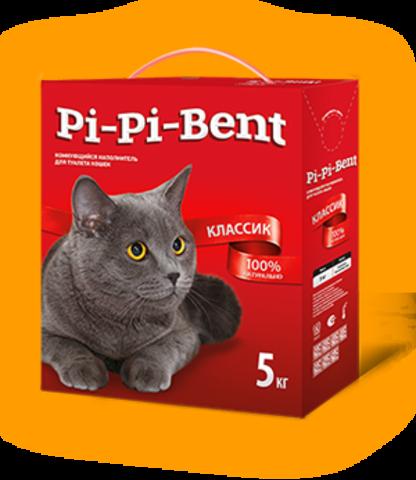 Pi-Pi-Bent (Пи-Пи-Бент) наполнитель классик 5 л