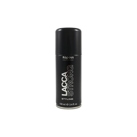Лак аэрозольный для волос сильной фиксации 100 ml. Kapous