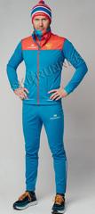 Элитный утеплённый лыжный костюм Nordski Pro Rus мужской